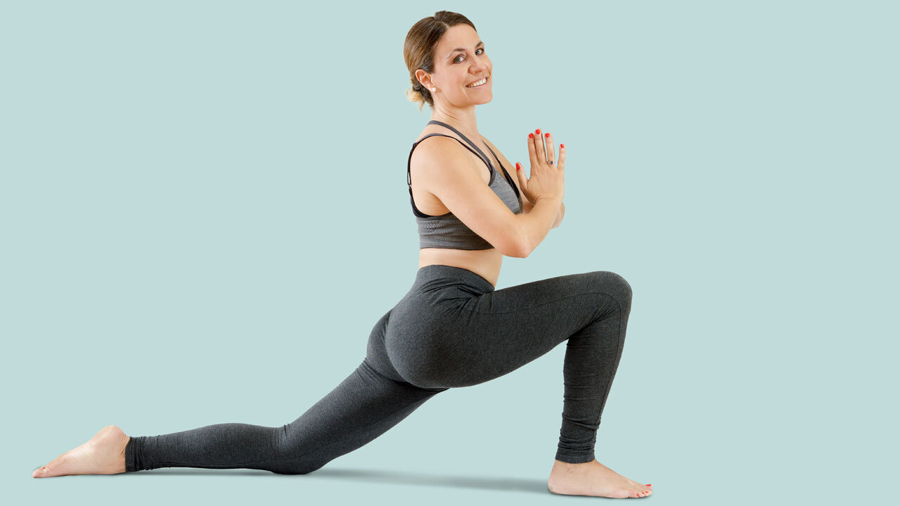 Yoga Stretch For How To Reduce Lower Back Pain.